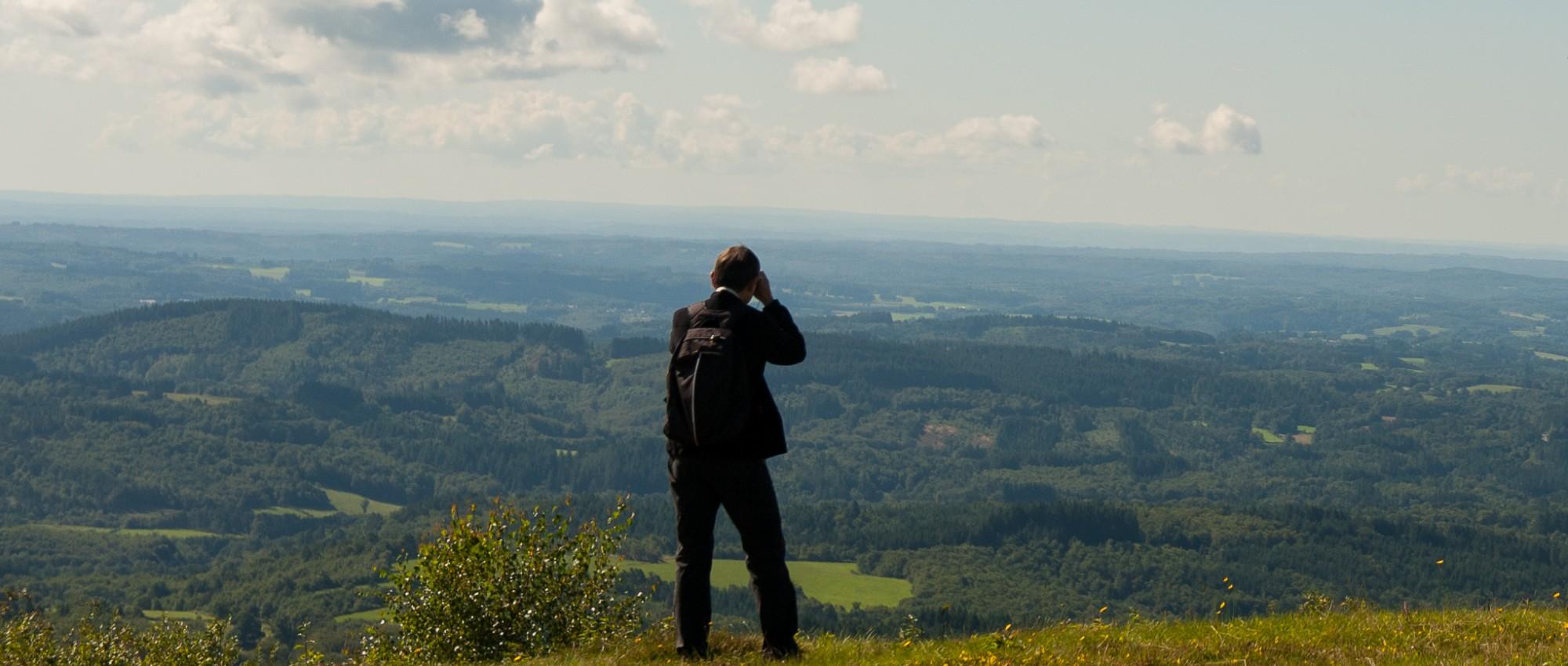 prachtige uitzichten zijn er overal!
